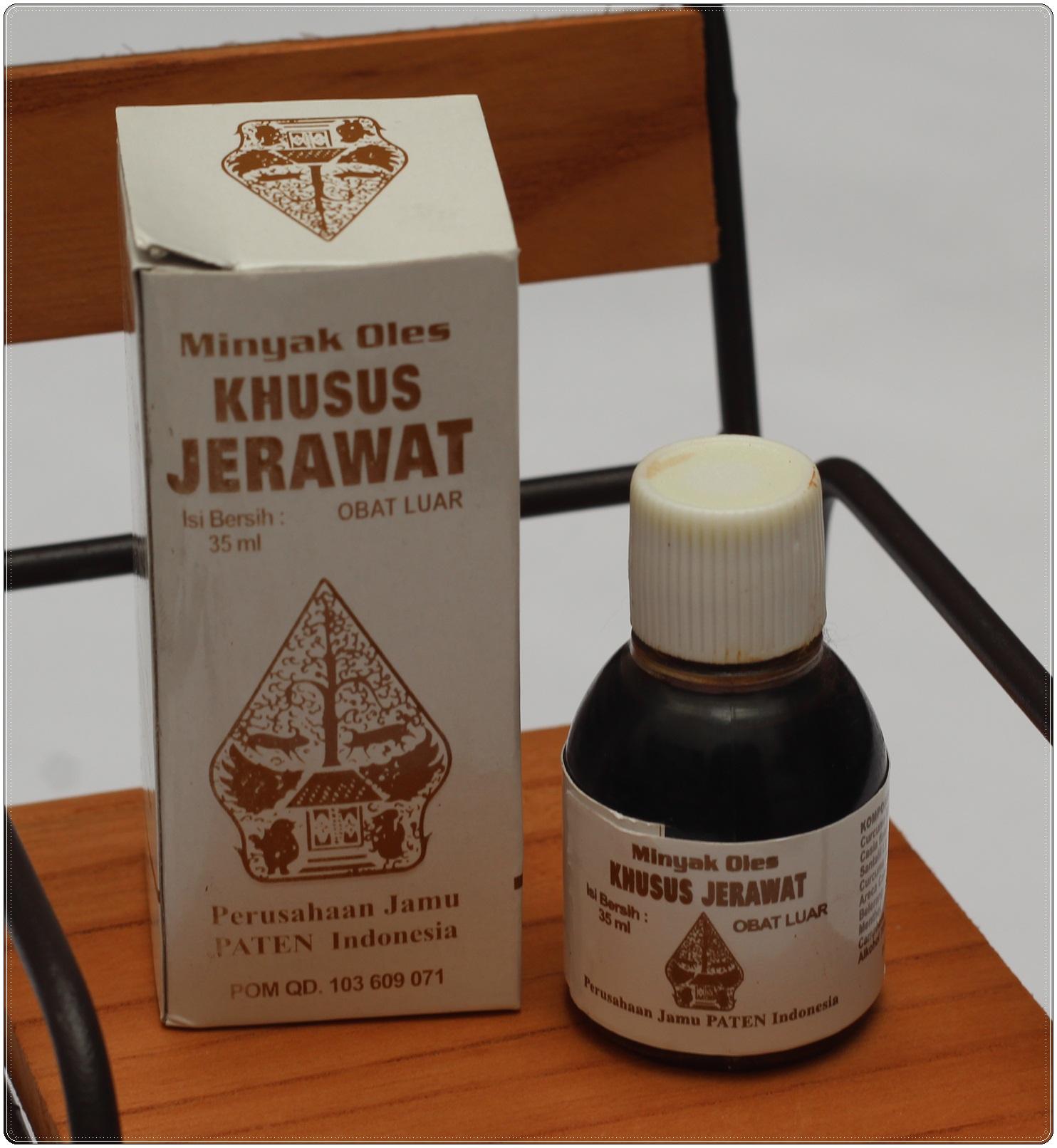 Jual Minyak Oles Khusus Jerawat Cap Wayang ( Obat Jerawat