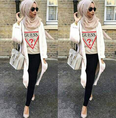 CJN- Shiela Guess Hijab - Setelan muslim