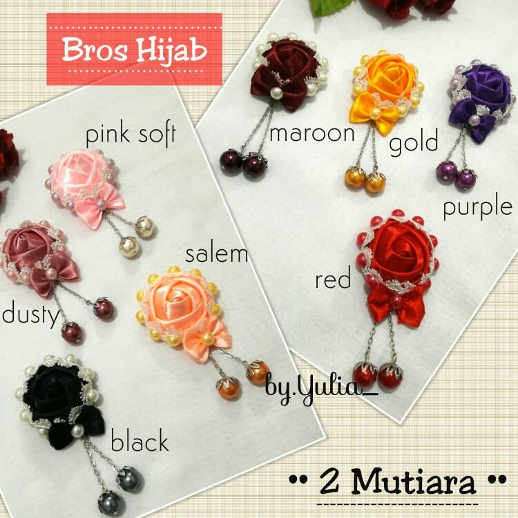 Bros Hijab 2 Mutiara / Bross Jilbab Murah
