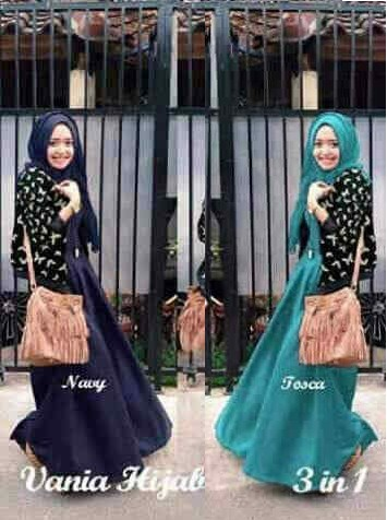 Hijab Vania Butterfly 3in1