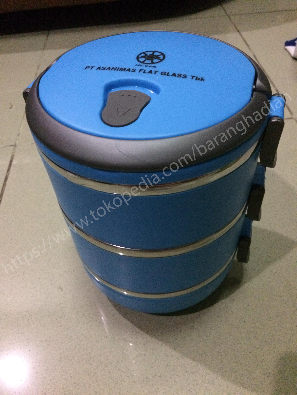 ... Glossy Source · Makanan Hijau Source Harga Aiueo Eco Lunch Box Stainless Steel Rantang 3