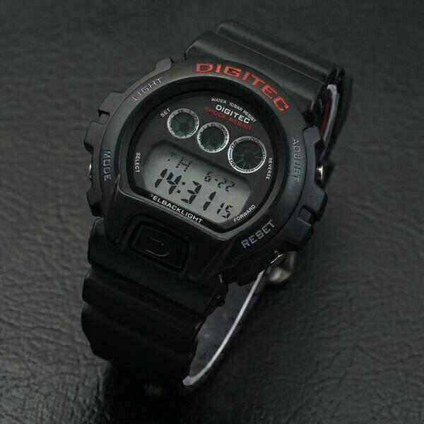 jam tangan digitec sport digital original