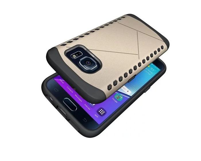Samsung Galaxy S7 Armor Shield Slim Case Soft Gel  Polycarbonate