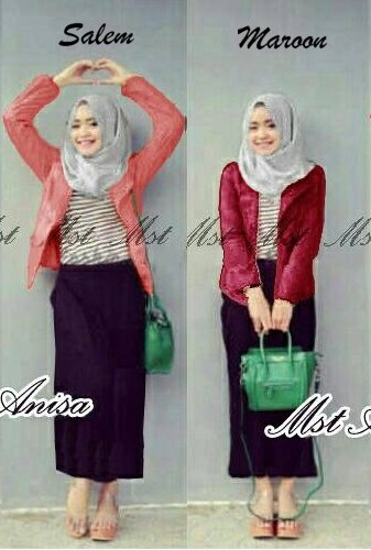 Anisa Hijab Set 4in1