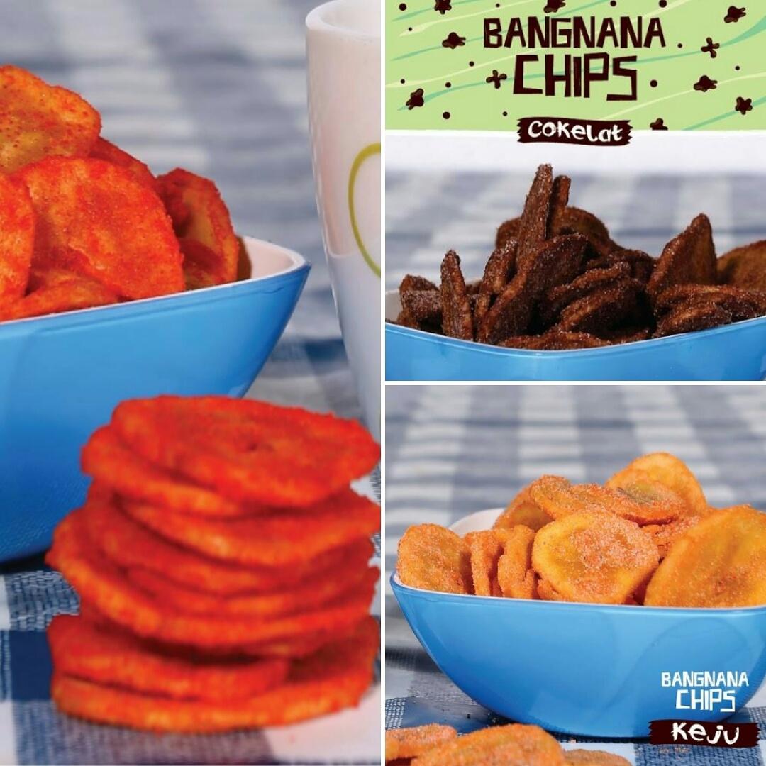 Jual Bangnana Chips Paket Promo Kemerdekaan Lins Chocolate Tokopedia