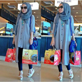 abby hijab denim ready