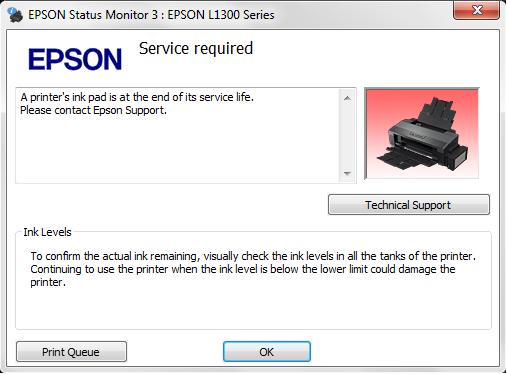 Resetter Epson L310 / L130 / L220 / L360 / L365 (UNLIMITED) - Blanja.com