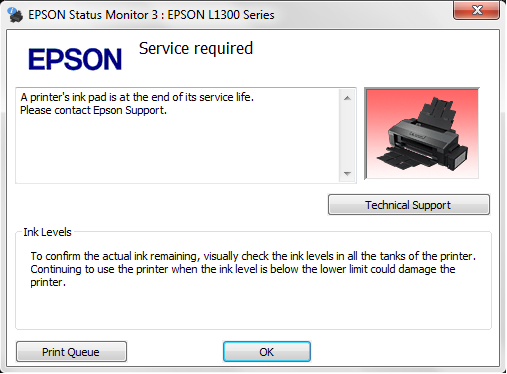 Resetter Epson L120 (UNLIMITED) - Blanja.com