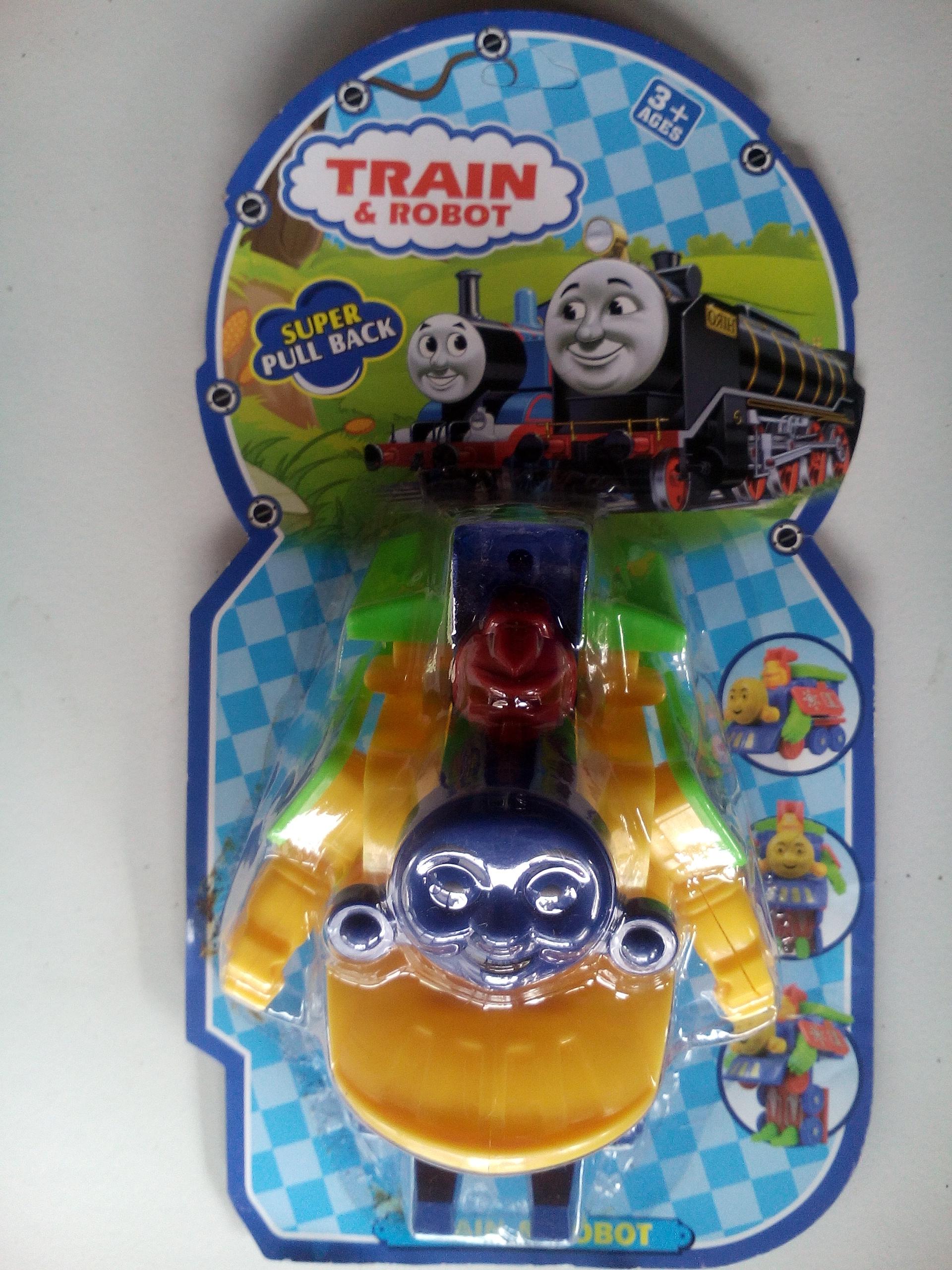 Jual Mainan Kereta Api Robot Transformer Thomas 2 In 1 Unik