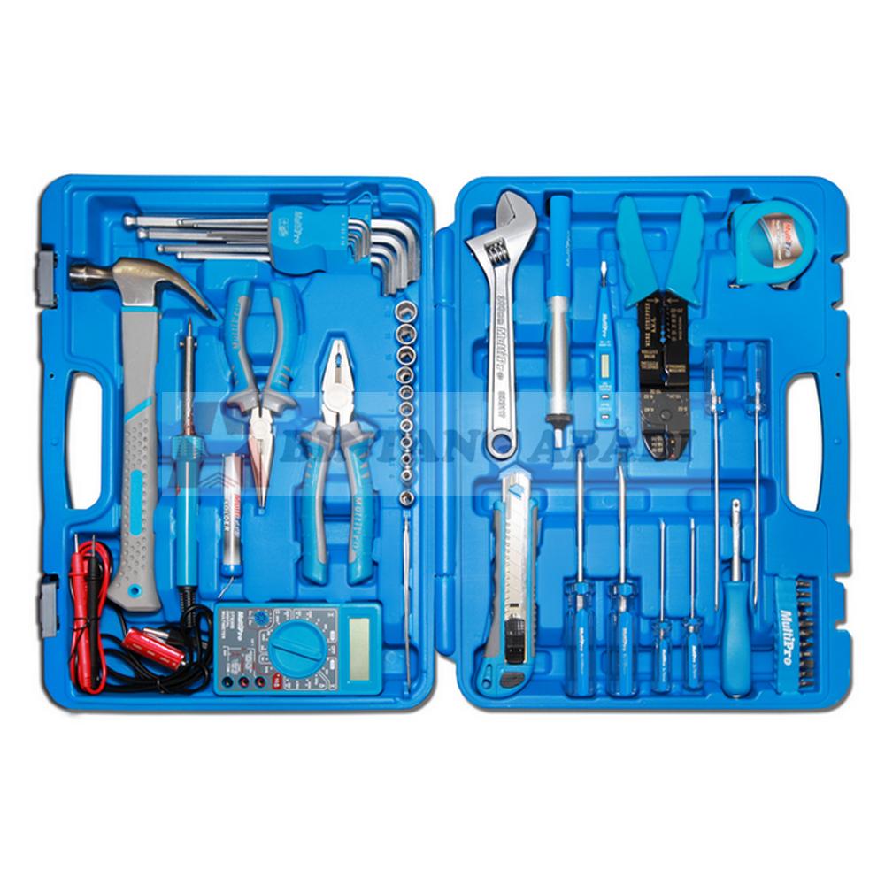 Jual MultiPro Tool Kit Elektrik Listrik Set 52 Pcs