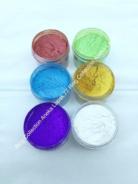 Bubuk Metalic metalic powder - Ungu thumbnail