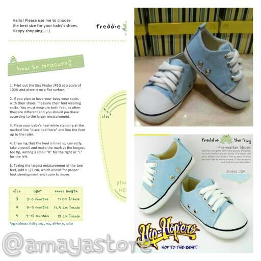 Freddie the Frog Blibli com Source · Levy Jr Daftar Source Sepatu Bayi Prewalker Shoes By