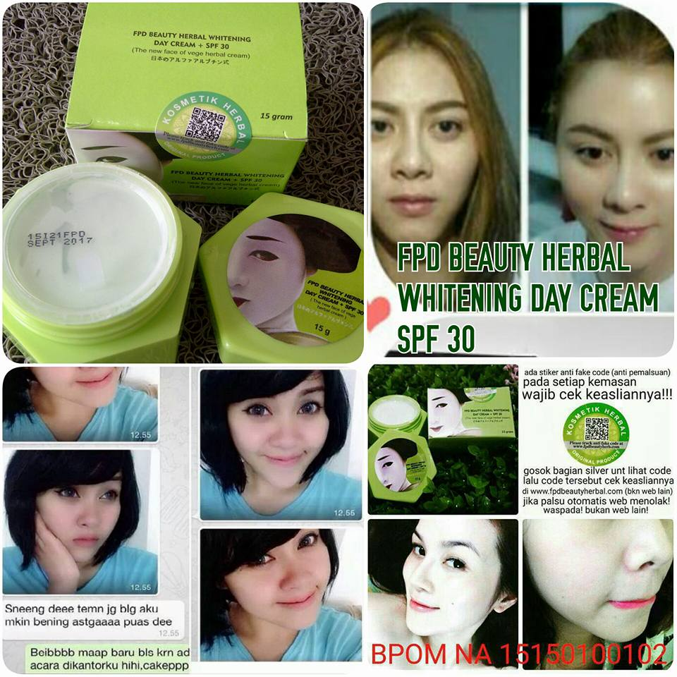 Paket fpd Magic glossy cream vege serum vege. Source ... Jual FPD Beauty Herbal Whitening Day Cream SPF 30 Vege Herbal Cream BPOM .
