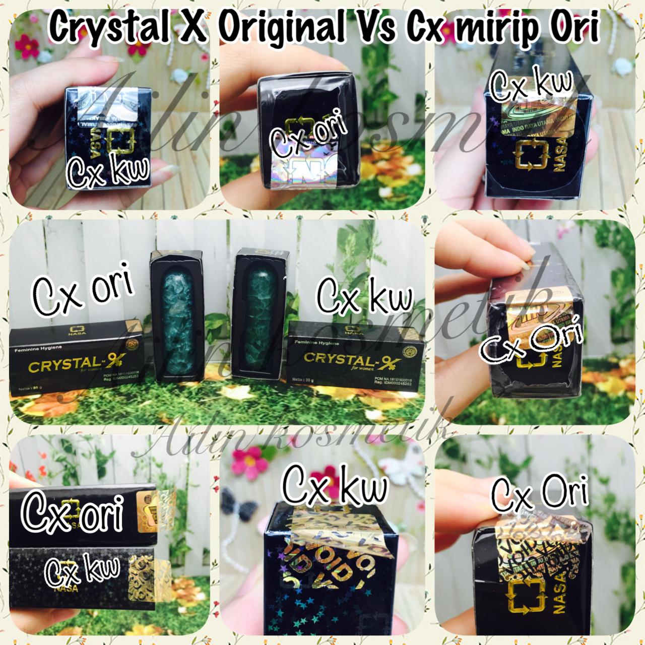 Jual Crystal Xcristal Xkristal Xcxori 100no Seri Berbeda 1 Dgn X Ori Nasa Kristal Asli Yg La Master Piece Tokopedia
