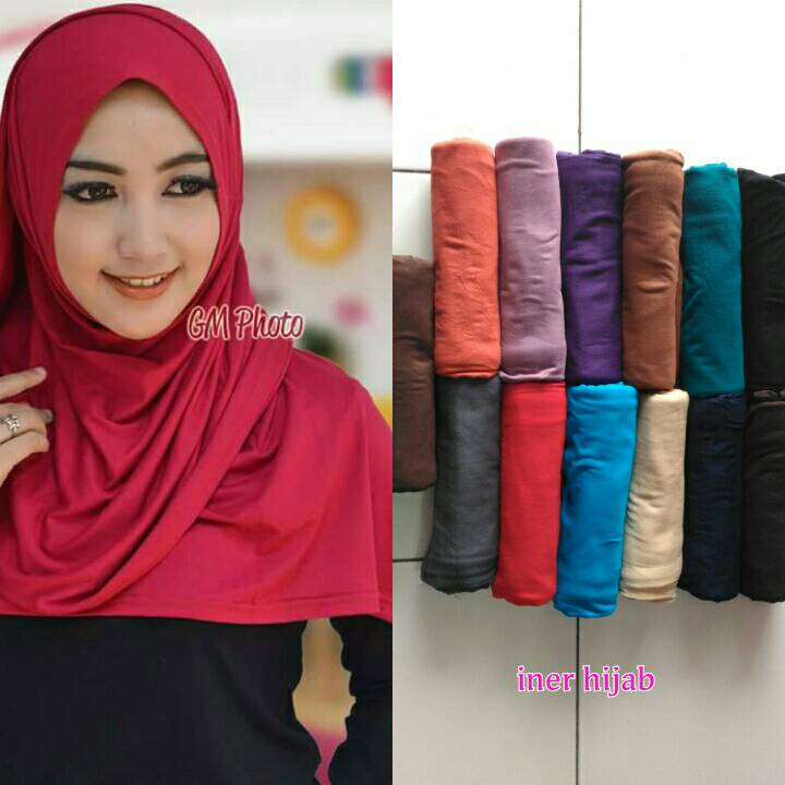 hijab pasmina kaos termurah kerudung kaos tebal modern