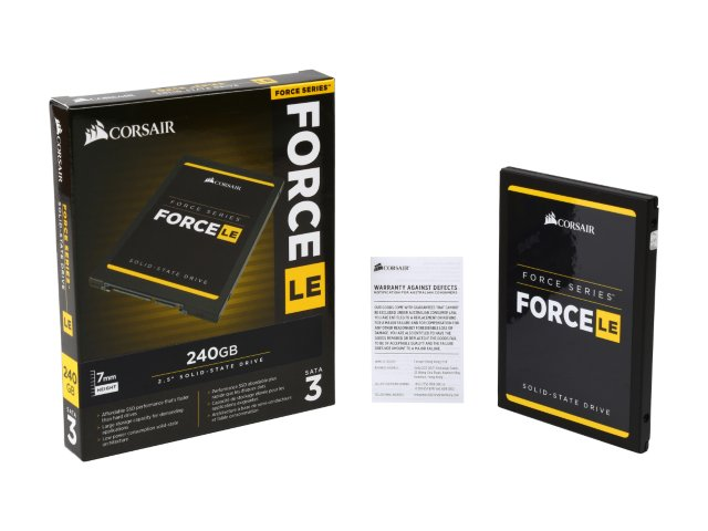 "Harddisk SSD Corsair Force LE CSSD-F240GBLEB 240GB 2.5"" Internal SATA"
