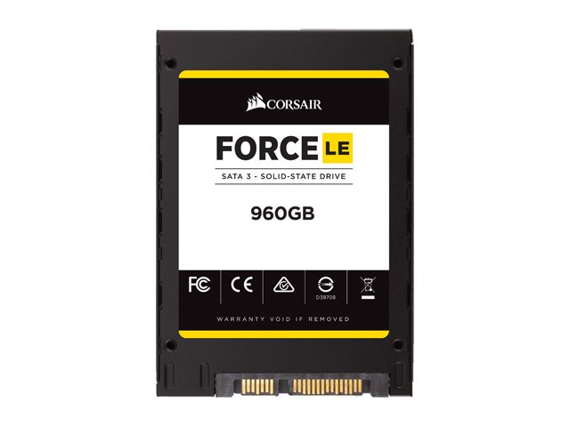 "Harddisk SSD Corsair Force LE CSSD-F960GBLEB 960GB 2.5"" Internal SATA"