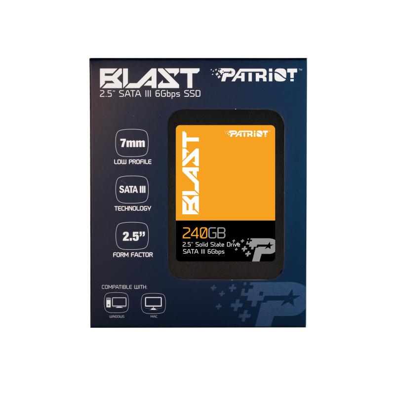 SSD Patriot Blast 240Gb SATA III