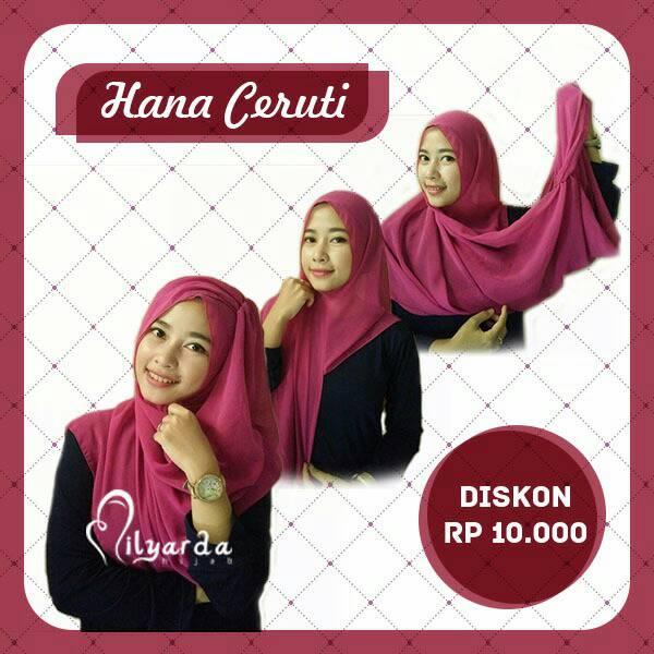 kerudung instan / kerudung modis / hijab syari/ kerudung hana