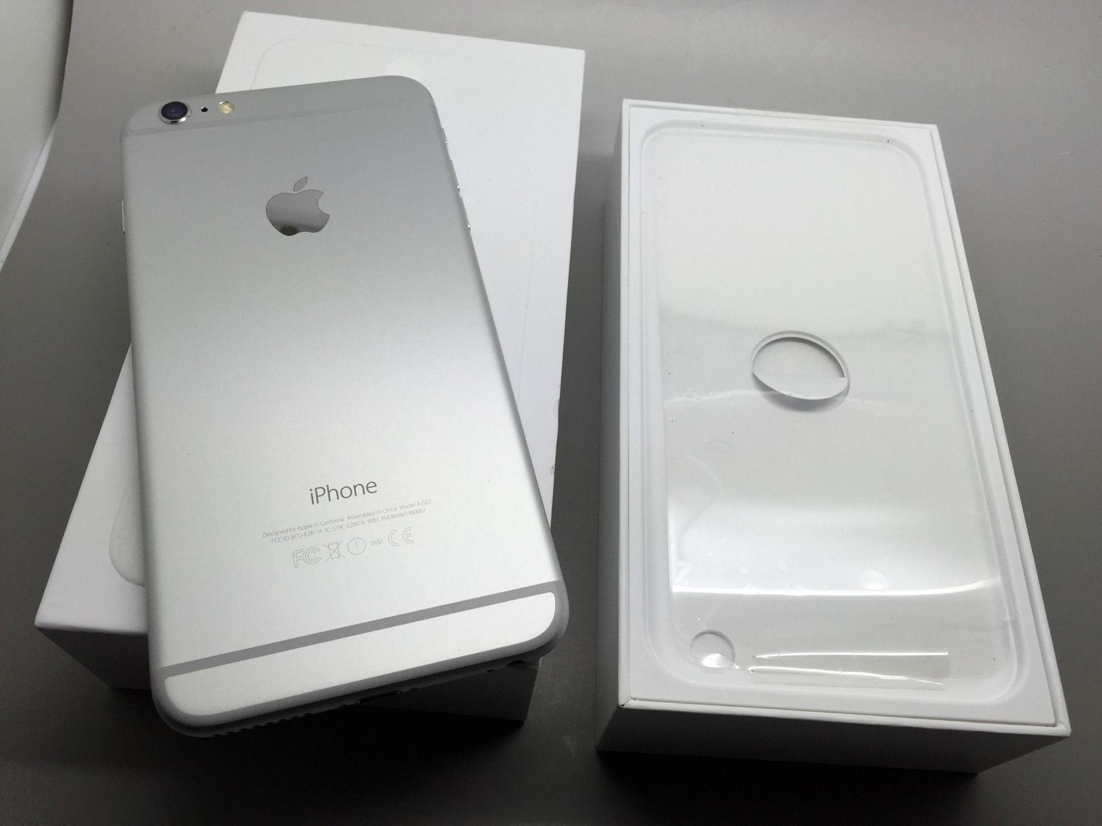 jual apple iphone 6s plus 16gb silver asli original. Black Bedroom Furniture Sets. Home Design Ideas