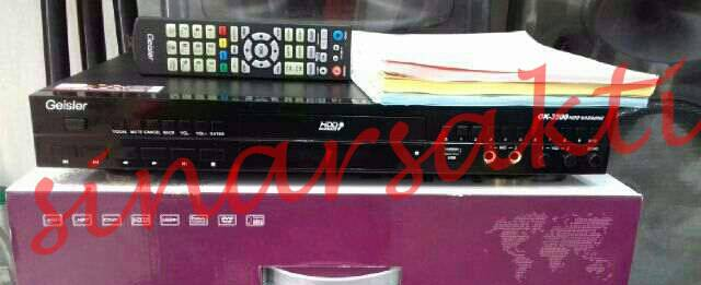 Murah DVD Player Karaoke Geisler OK 3500 (HDD 2 Tera)