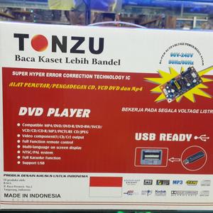 Dvd Murah Merk Tonzu Body Mini Kecil Gan Bisa Puter Sehala Jenis Kaset