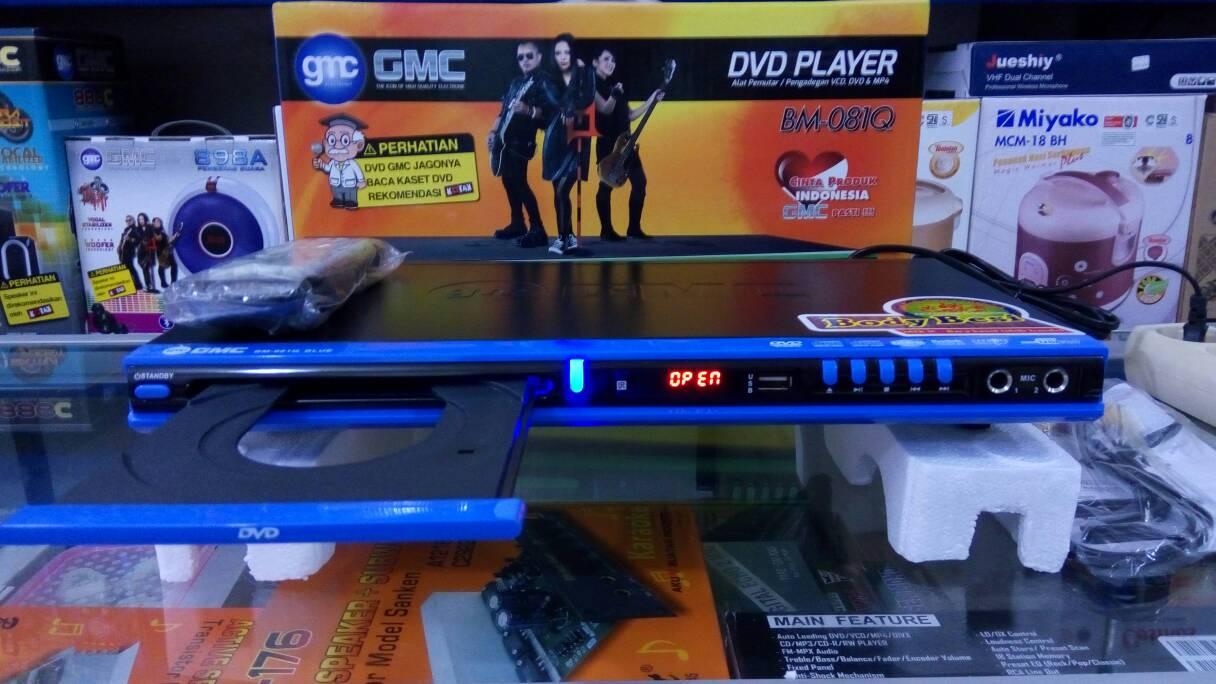 Dvd Player GMC Jagonya Baca Kaset Bacakan. Handal Dan Kuat