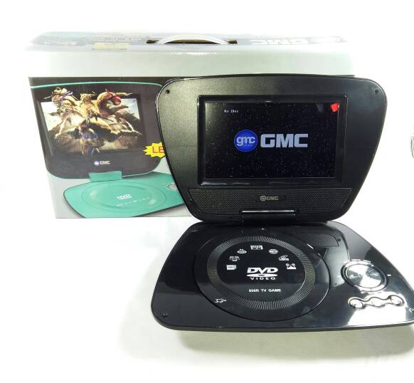 Portable TV / DVD Player GMC 7 Inch