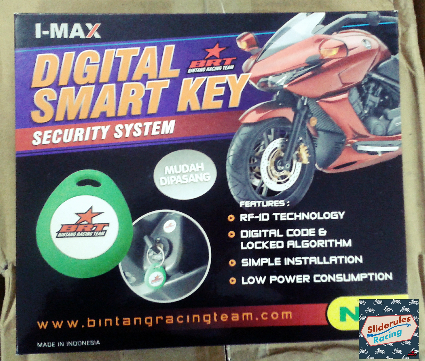 Alarm Motor Digital BRT New CB 150 R