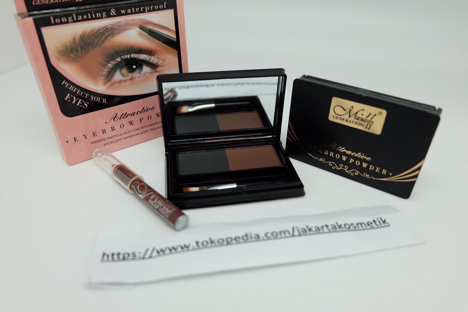 Jual Me Now Eye Brow Powder Pensil Alis Kosmetik Kecantikan Eyebrow Generation Ii Hermes Toserba Tokopedia