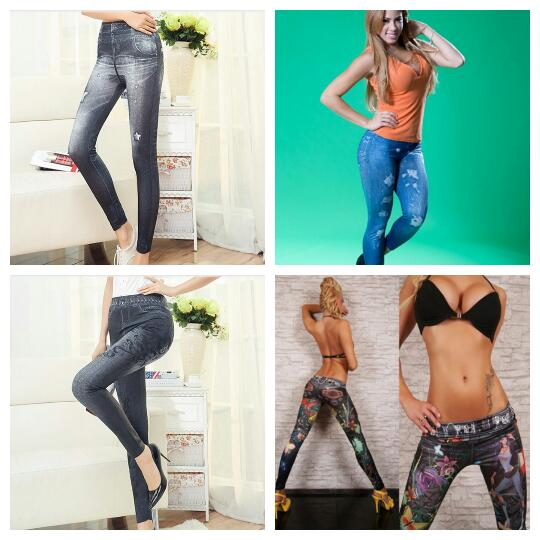 Slim N Lift Caresse Jeans Skinny Jeggings As seen on TV with box .