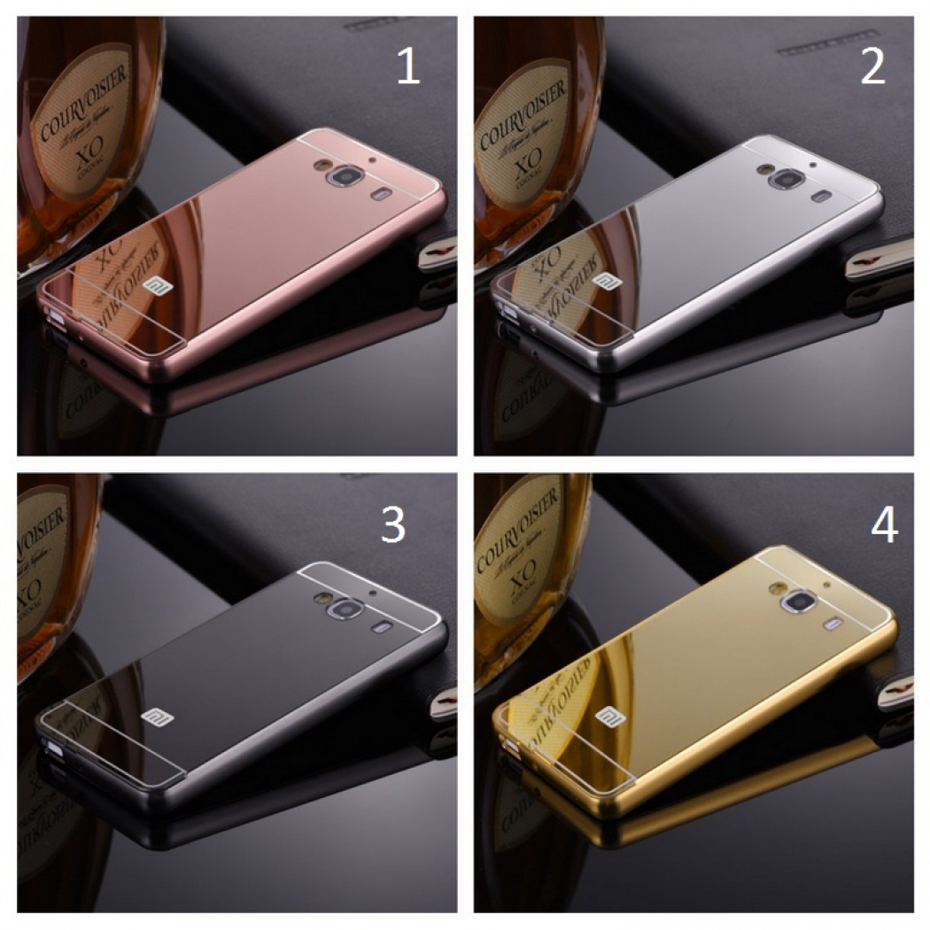 Metal Back Case Sliding Rose Source · 2 Prime Casing Bumper Mirror Silver .