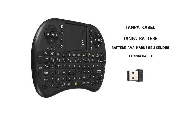 Keyboard Mini Touchpad Wireless 2,4G PC Android Smart Tv Box MXQ Kodi