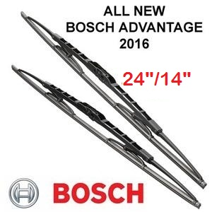 Wiper Honda Jazz - BOSCH Advantage 24/14