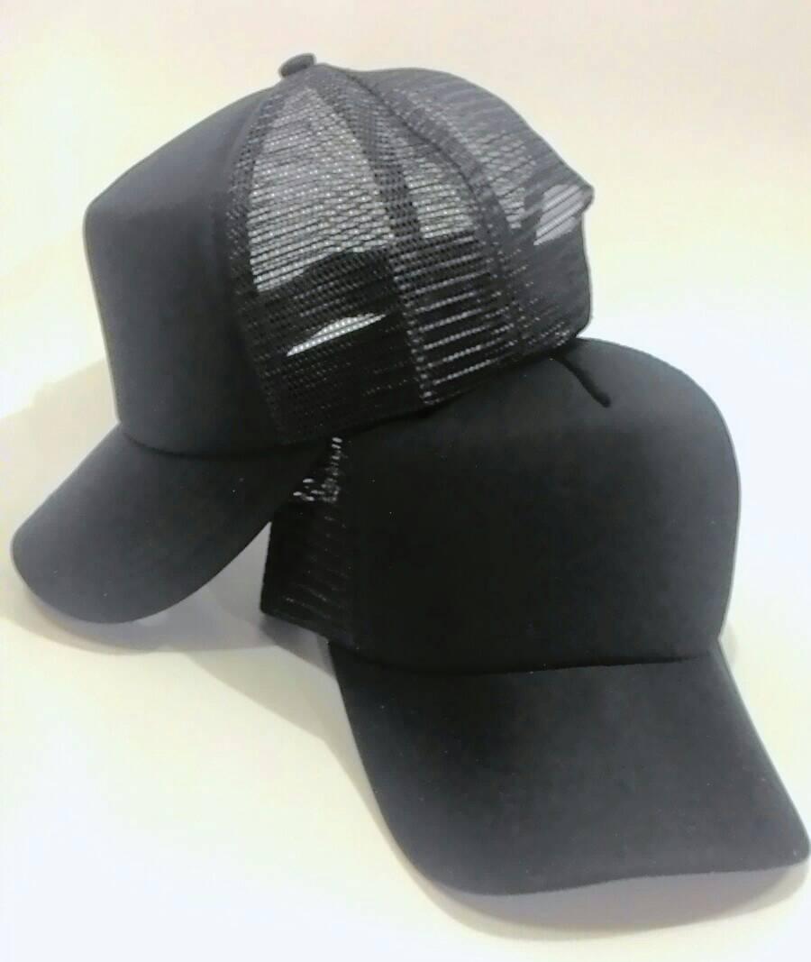 Jual topi polos hitam - Jadu Design Custom Store  30373022b0