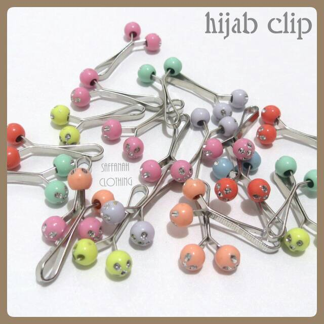 Hijab Clip || Klip Hijab Pastel Series 2
