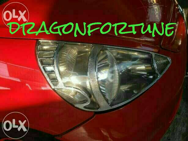 Garnish depan honda jazz lama