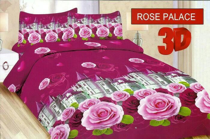 Jual Sprei 3D Bonita bahan halus nyaman motif rose - GORD HOUSE ...