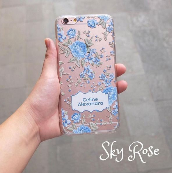 huge selection of 1bfe1 8aba7 Jual PO Custom Case Sky Rose for Iphone/Samsung/Oppo/Asus/Vivo ...