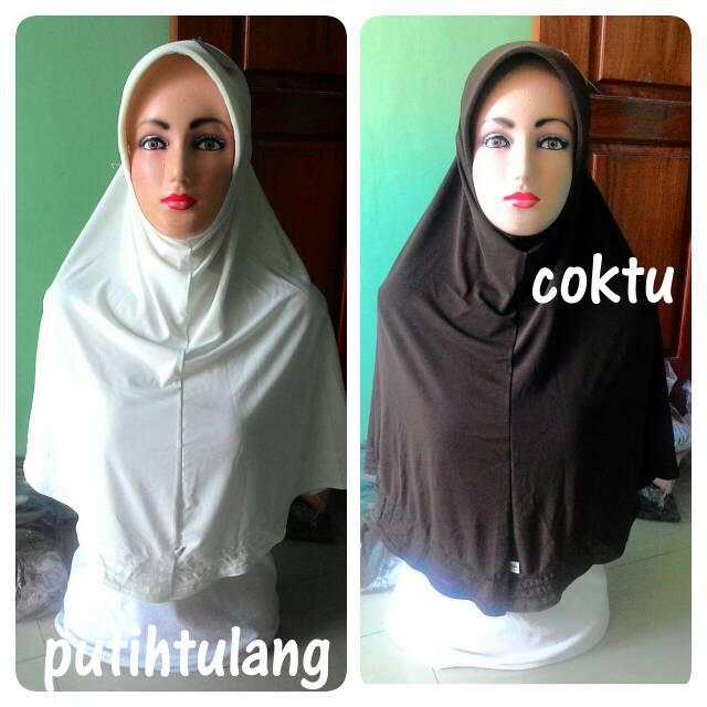 Kerudung/Jilbab/Hijab Instan Sutra/Simple