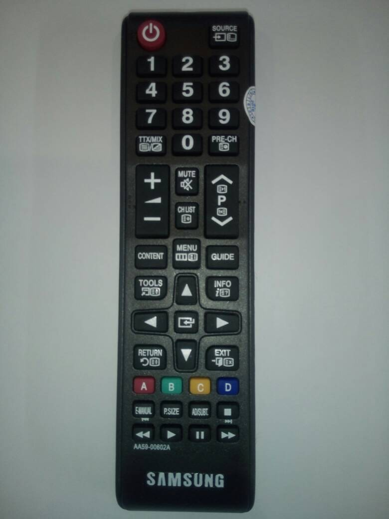 Jual Remote Tv Lcd Led Samsung Aa59 00602a Kw Di