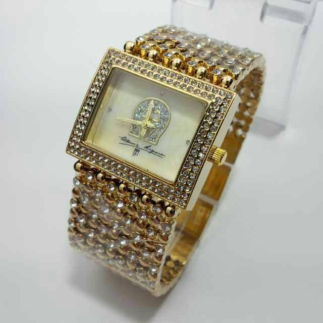 jam tangan wanita aigner 2017 gold