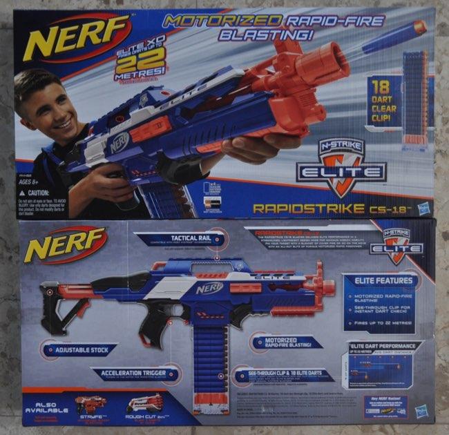 Jual nerf elite rapidstrike cs 18 automatic toysgraphy for Nerf motorized rapid fire blasting