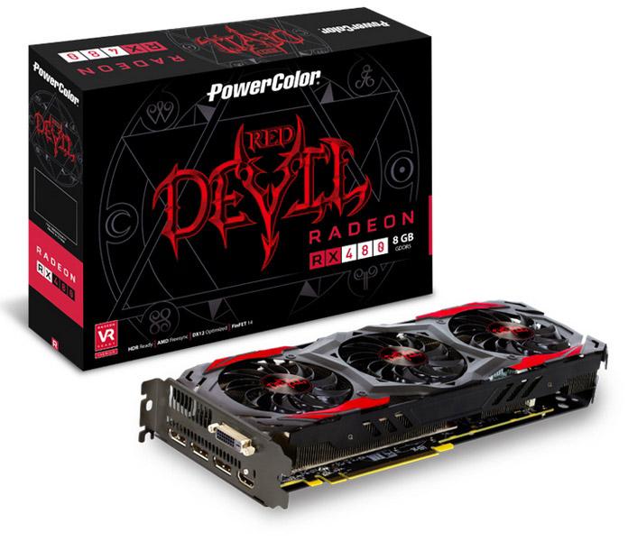 PowerColor RX 480 8GB DDR5 RED DEVIL murah