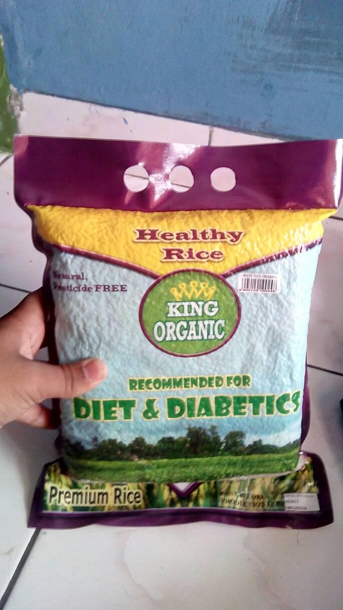 Jual Beras Putih Organik Bebas Diabetes Alfaatih Tokopedia By Sehat Bogor