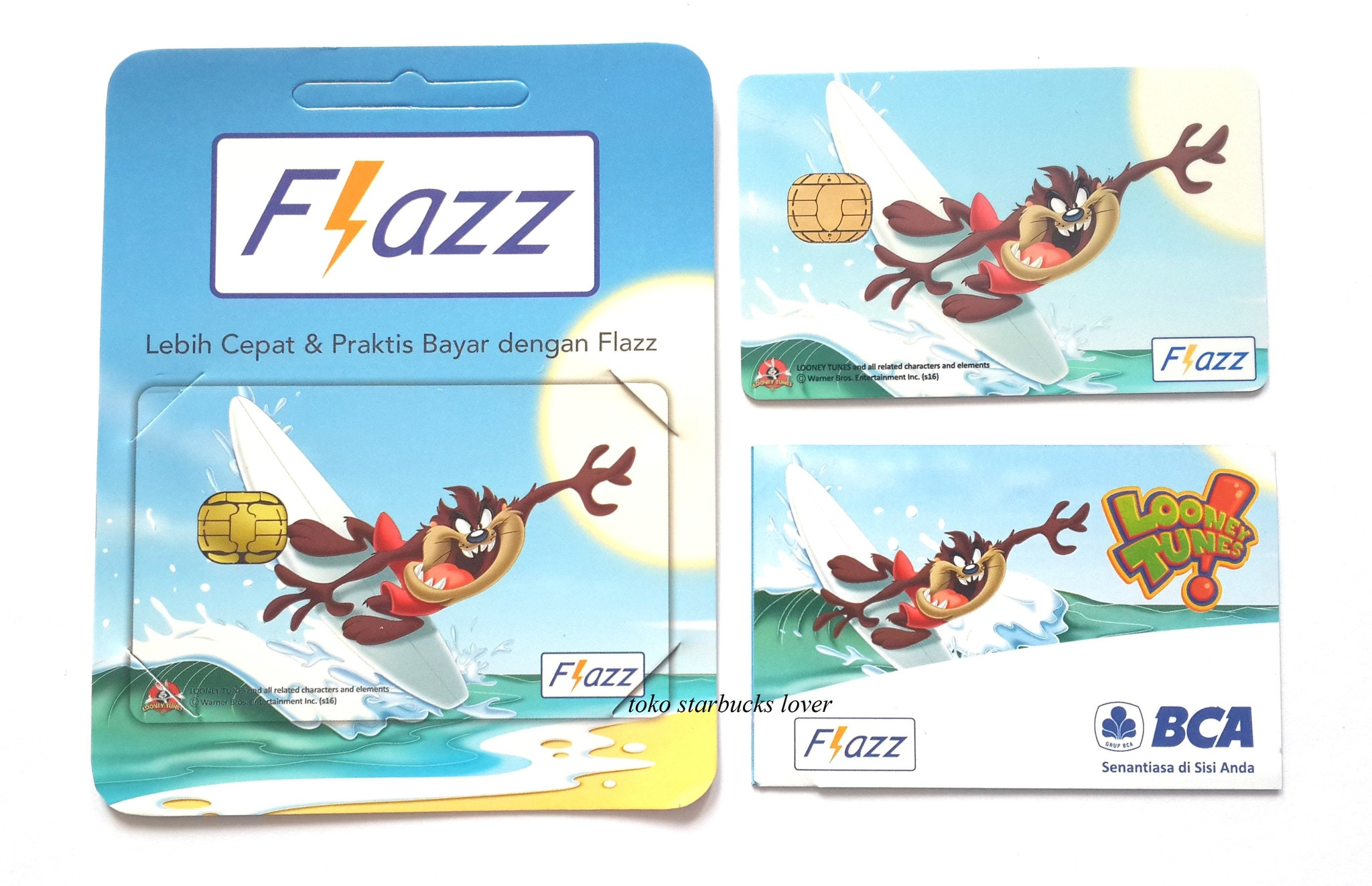 Kartu Flazz BCA Saldo 0 Looney Tunes Series2