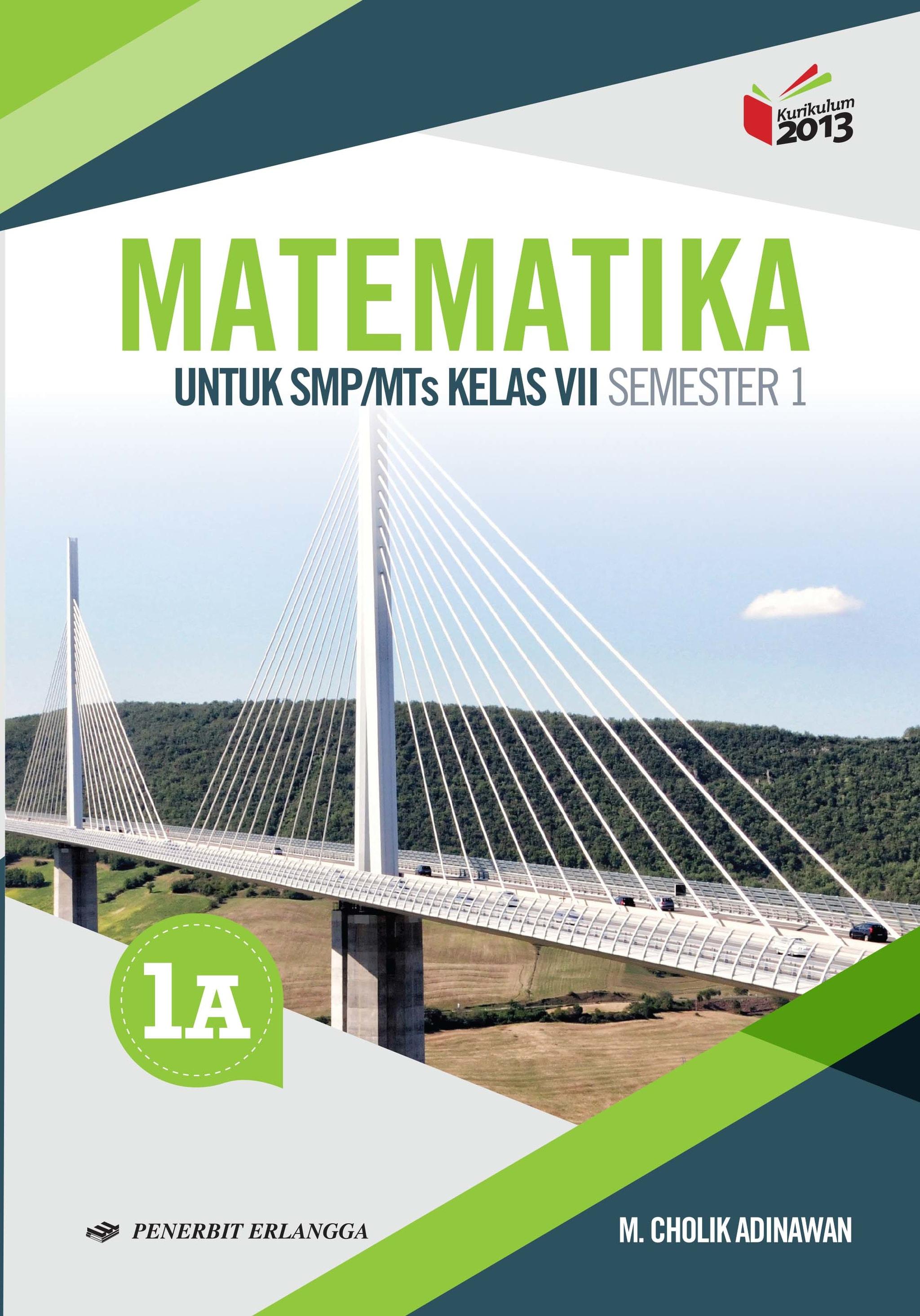 Jual MATEMATIKA SMP JL 1A K13N Buku Erlangga TARGET BOOKSTORE