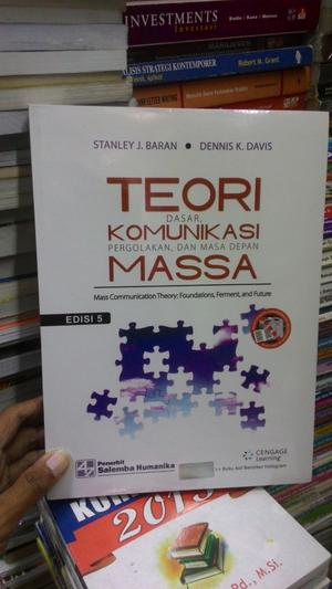 Buku Teori Komunikasi Massa Oleh Wiryanto - Berita