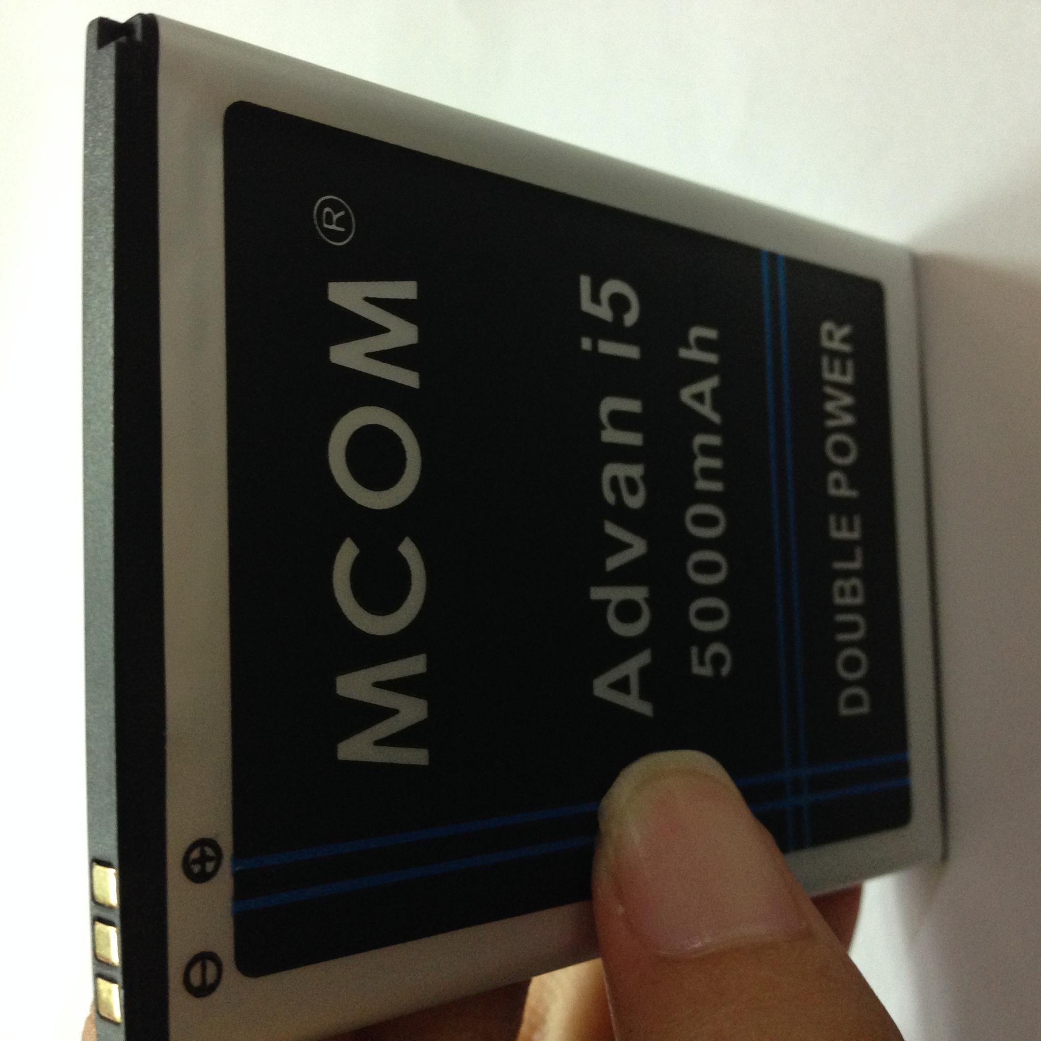 Battery 4000 Source Baterai Advan Vandroid I5 4g Lte Double Power Mcom