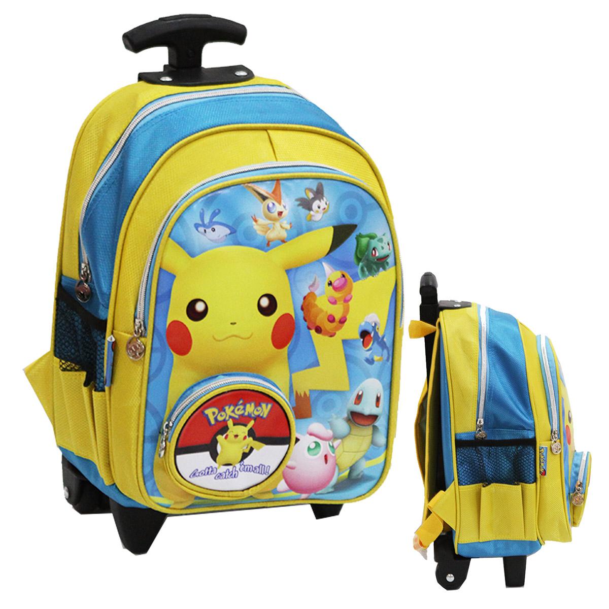 Jual Tas Trolley Pokemon Kantung Coin Ukuran TK Atau PG - Yellow - Tas Anak Harga Grosir   Tokopedia